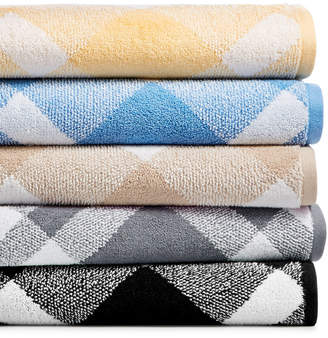 Charter Club Plaid Cotton Bath Towel Collection, Created for Macy's & Reviews - Bath Towels - Bed & Bath - Macy's