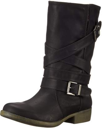 Rocket Dog Women's Truly Westwood Pu Motorcycle Boot