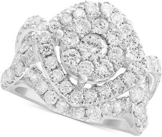 Effy Rock Candy by Diamond Cluster Ring (3-1/5 ct. t.w.) in 14k White Gold