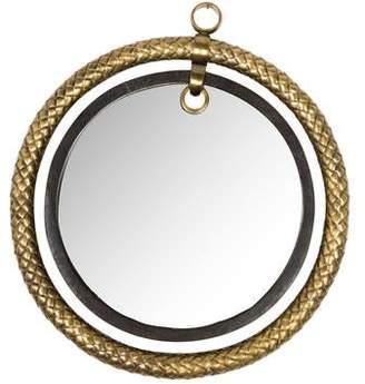 R & Y Augousti R&Y Augousti Shagreen Ouroboros Wall Mirror