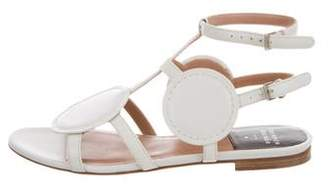 Laurence Dacade Leather Ankle Strap Sandals
