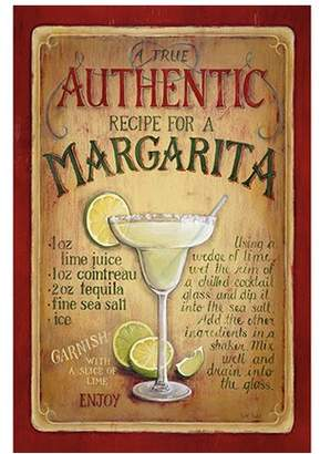 iCanvas Authentic Margarita by Lisa Audit Vintage Advertisement on Canvas