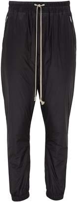 Rick Owens Drop crotch padded track pants