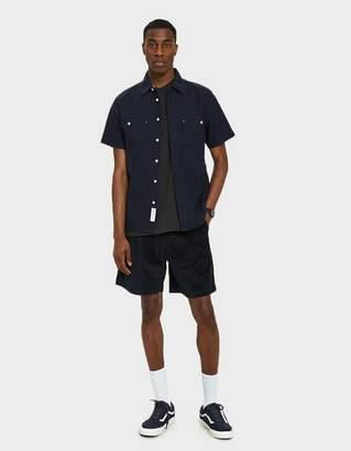 NATIVE YOUTH Baltic Shirt in Indigo