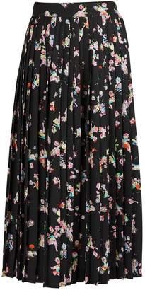 Maison Margiela Kawai printed midi skirt