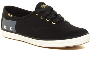 Keds Taylor Swift Champion Sneaky Cat Sneaker $55 thestylecure.com