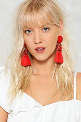 Nasty Gal Shake It Off Tassel Earrings
