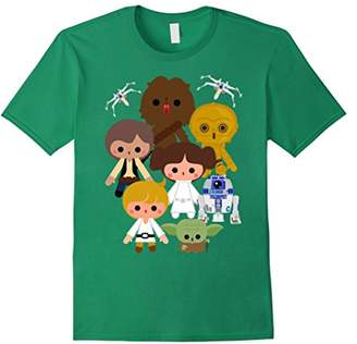 Star Wars Cute Kawaii Style Heroes Graphic T-Shirt