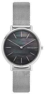 Skagen Signatur Slim Stainless Steel Mesh Bracelet Watch