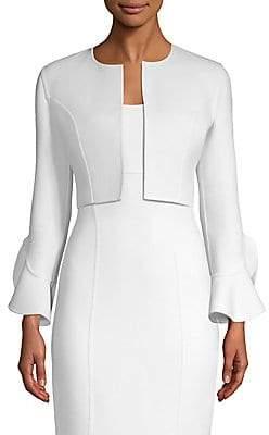 Michael Kors Women's Ruffle Sleeve Cardigan Jacket
