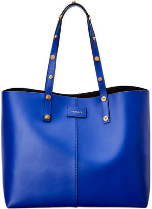 Versace Tribute Leather Tote