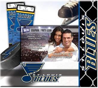 "St. Louis Blues 8"" x 8"" Ticket and Photo Album Scrapbook"