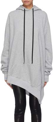 Taverniti So Ben Unravel Project Asymmetric hem oversized hoodie