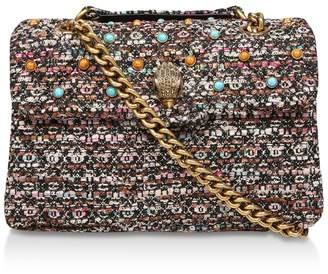 Kurt Geiger London Tweed Kensington X Bag