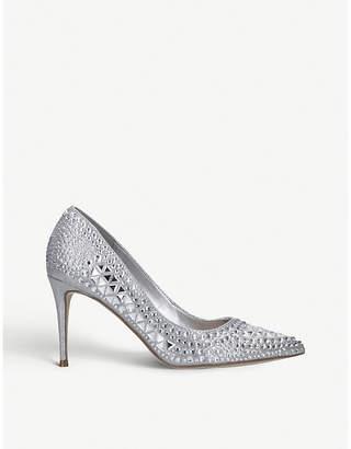 Steve Madden Lilett embellished court shoes