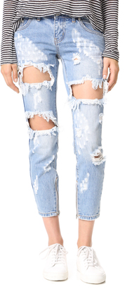 One Teaspoon Freebird Jeans $149 thestylecure.com