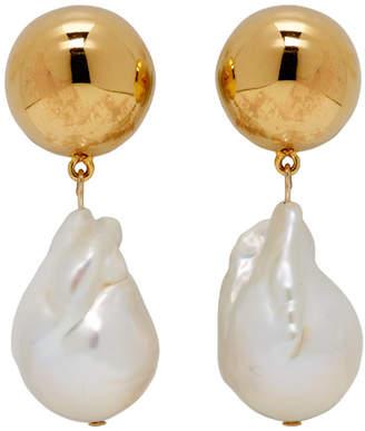 Sophie Buhai White Pearl Francis Earrings