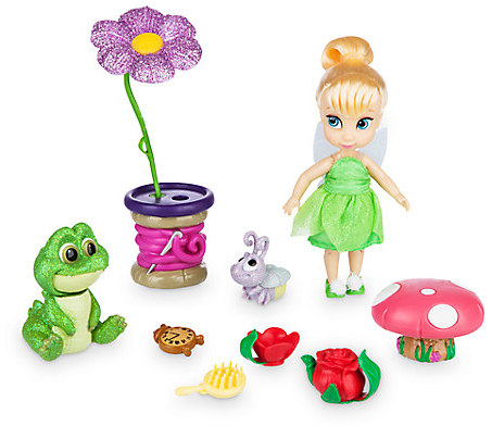 Disney Animators' Collection Tinker Bell Mini Doll Play Set - 5''