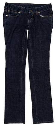 Celine Low-Rise Straight Jeans