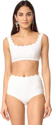 Marysia Swim Palm Springs Bikini Top $150 thestylecure.com