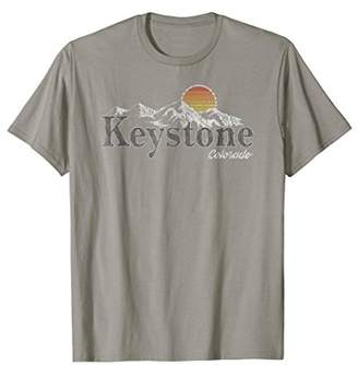 Key Stone Retro Keystone Colorado Mountain T-shirt