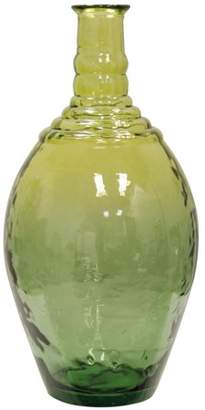 Generic Decorative Glass Vase - Sage Green