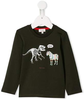 Paul Smith animal print sweatshirt