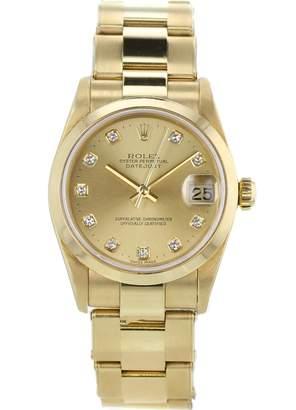 Rolex Datejust 31mm Khaki Yellow gold Watches