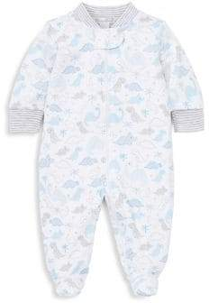 Kissy Kissy Baby Boy's Dino Print Footed Romper