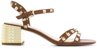 Ash studded ankle-strap sandals