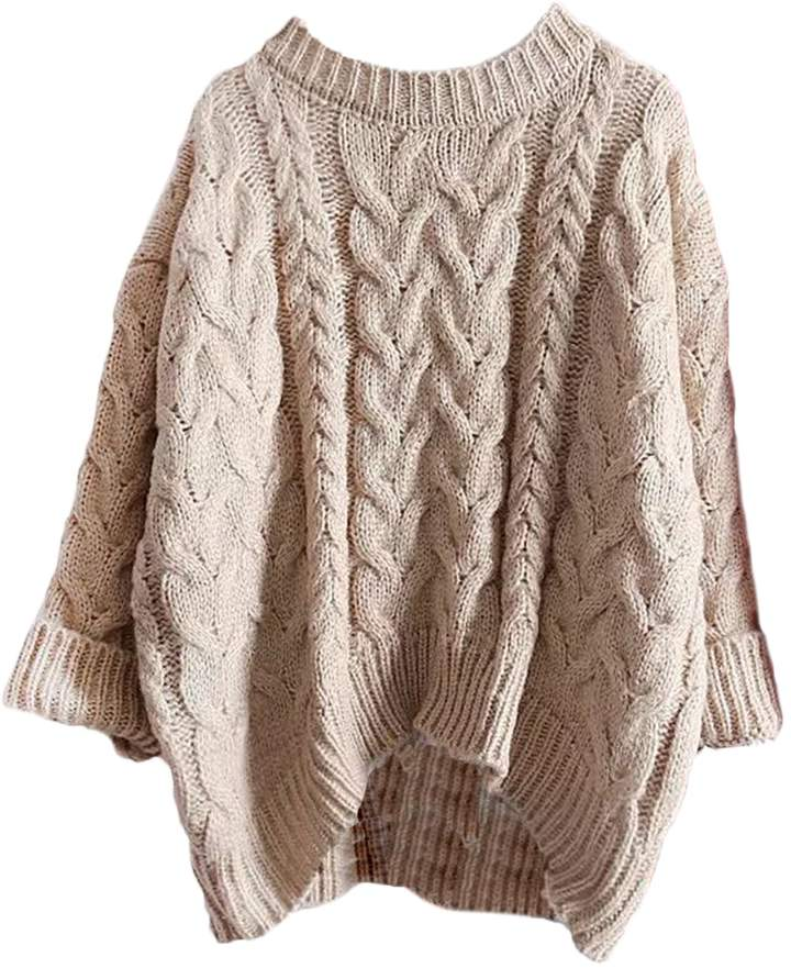 Goodnight Macaroon 'Katelyn' Crewneck Knitted Sweater (4 Colors)