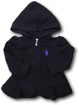 Ralph Lauren Polo Girls' Zip Up Hoodie (18M, )