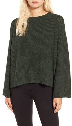 BP. Knit Bell Sleeve Pullover $59 thestylecure.com