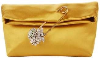 Burberry Small Satin Pin Clutch