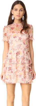 RED Valentino Collared Ruffle Dress $1,150 thestylecure.com