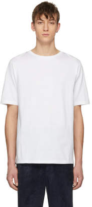 Loewe White Jacquard Back Patch T-Shirt
