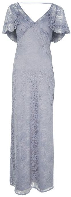 Topshop Topshop **lace cape maxi dress