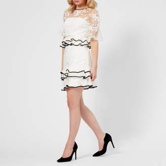 Three floor Women's Florintine 3D Floral Dress