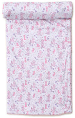 Kissy Kissy Oodles of Poodles Pima Baby Blanket