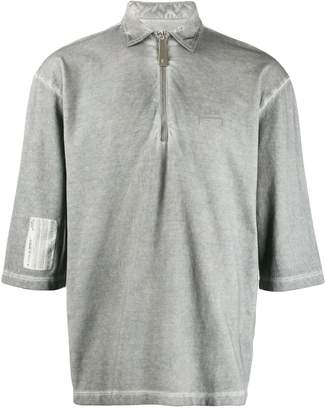 A-Cold-Wall* zip-up polo shirt