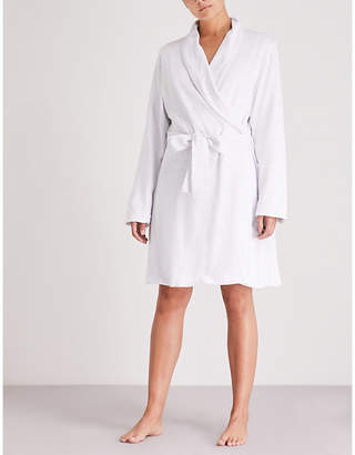 Eberjey Leonor cotton-blend dressing gown
