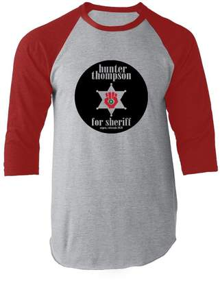 Hunter Pop Threads S. Thompson for Sheriff L Raglan Baseball Tee