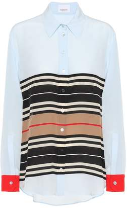 Burberry Striped silk shirt