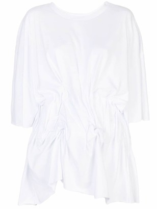 Natasha Zinko gathered oversized T-shirt