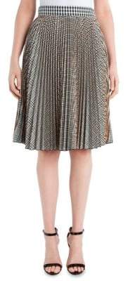 MSGM Pleat Knee-Length Skirt