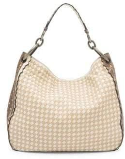 Bottega Veneta Woven Leather Hobo Bag