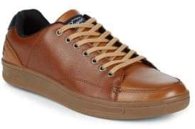 Original Penguin Brad Low-Top Leather Sneakers