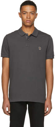 Paul Smith Grey Zebra Logo Polo