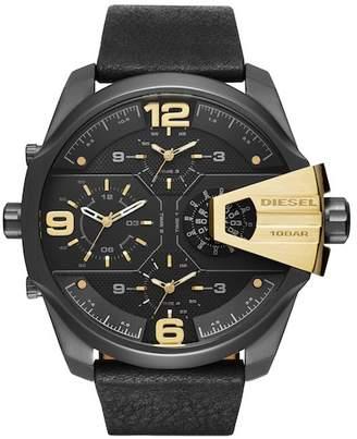 Diesel Men's Uber Chief Chronograph Quartz Watch $350 thestylecure.com