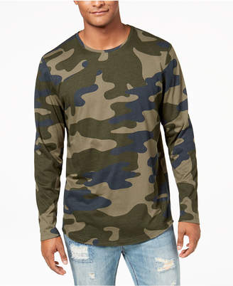 American Rag Men's Camo Long Sleeve T-Shirt, Created for Macy's